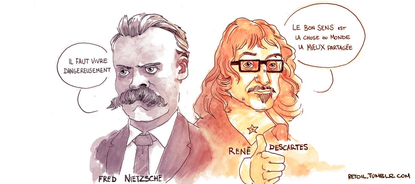 Pensée du jour Nietzsche-descartes