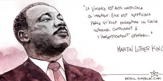 MLKviolence