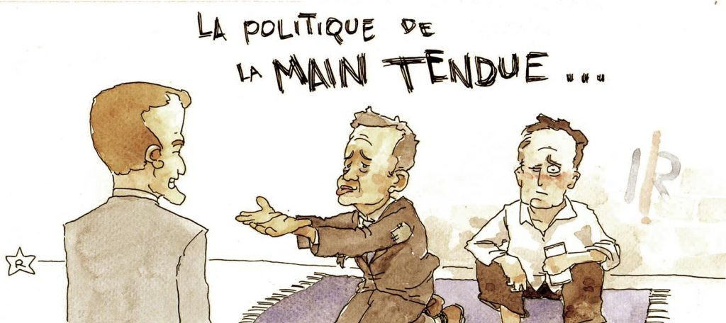 main-tendue
